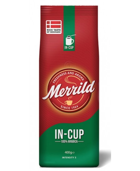 Malta kava RED MERRILD IN-CUP, 500g.