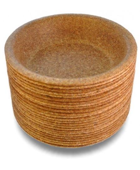 Ekologiški vienkartiniai dubenėliai iš sėlenų BIOTREM, 20 cm, 10 vnt