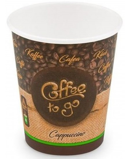 Popieriniai kavos puodeliai, 200 ml, 50 vnt.
