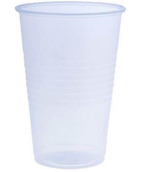 Skaidrios, ekologiškos stiklinės skirtos gėrimams iki +40°C. 300 ml, 50 vnt.
