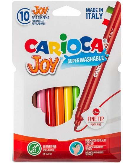 Flomasteriai CARIOCA  JOY, 10 spalvų