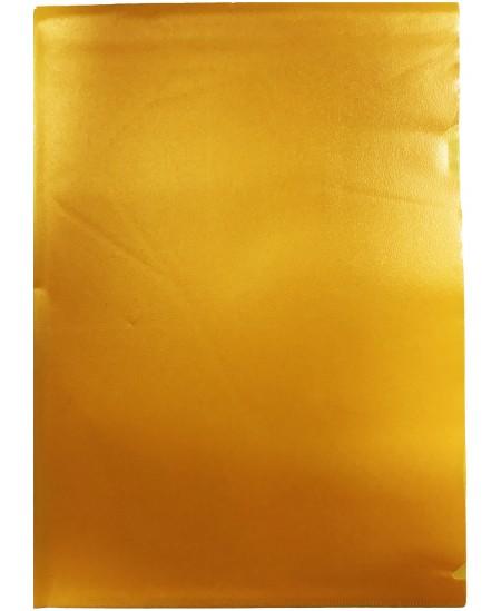 Dėklas L formos, 100 mikr., A4, geltonas