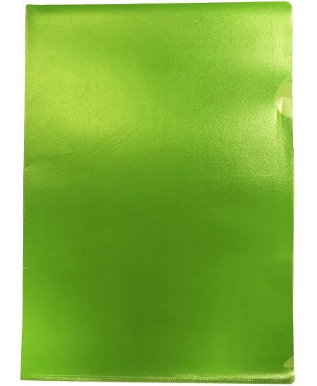 Dėklas L formos, 100 mikr., A4, žalias
