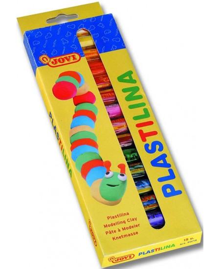 Plastilinas JOVI, 15 spalvų x 15g rinkinys