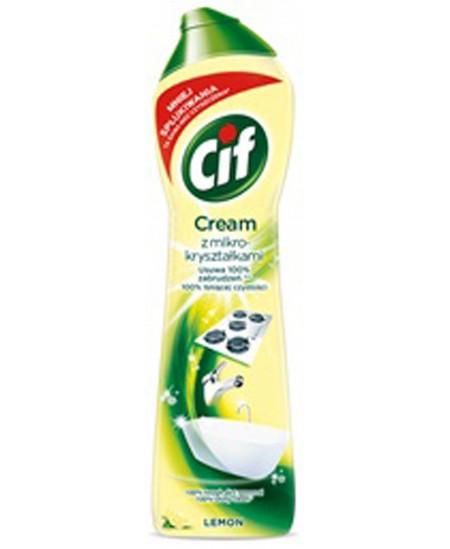 Šveitimo pienelis CIF Cream Lemon, 540ml