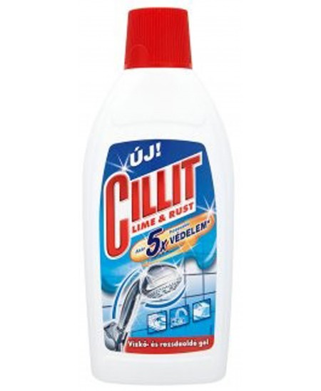 Skystas kalkių nuosėdų ir rūdžių valiklis CILLIT LIME & RUST, 450 ml
