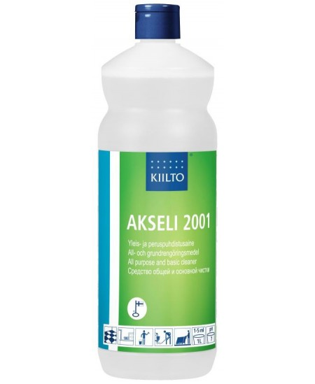 Paviršių valiklis KIILTO Akseli 2001, neutralus, koncentruotas, 1 l