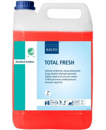 Ekologiškas universalus valiklis KIILTO Total Fresh, silpnai šarminis, koncentruotas, 5 l