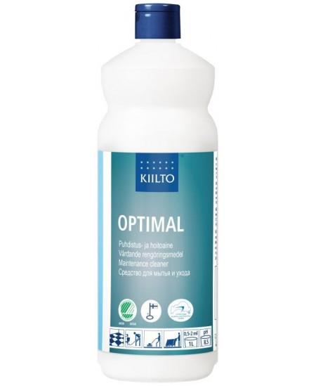 Ekologiškas grindų ploviklis KIILTO Optimal, koncentruotas, 1 l