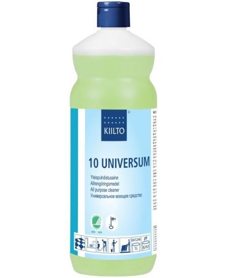 Ekologiškas grindų ploviklis KIILTO 10 Universum, švelniai šarminis, koncentruotas, 1 l
