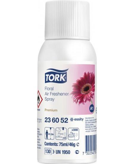 Oro gaiviklio flakonas elektroniniam oro gaiviklio dozatoriui TORK Premium, gėlių kvapo, 236052