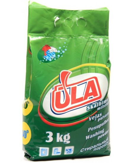 Universalūs skalbimo milteliai ŪLA, 3 kg