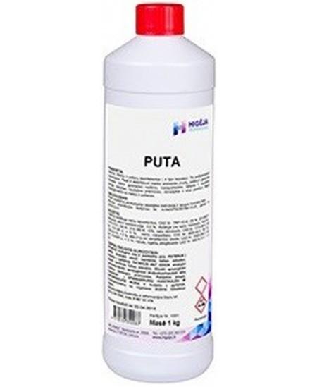 Stipriai putojanti plovimo priemonė su chloru PUTA, 1 kg