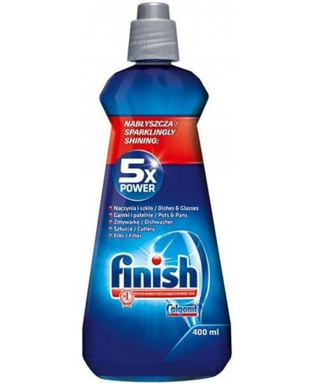 Indaplovių indų skalavimo skystis FINISH, 400 ml