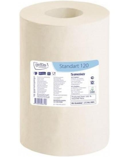 Popieriniai rankšluosčiai ritinyje GRITE Standart 120, 1 ritinys