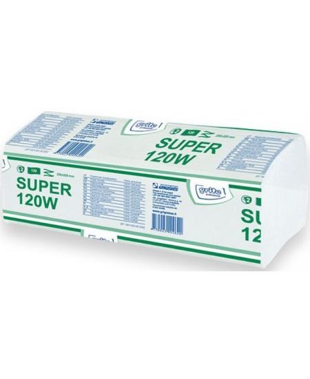 Lapiniai popieriniai rankšluosčiai GRITE Super 120W, 1 pakelis