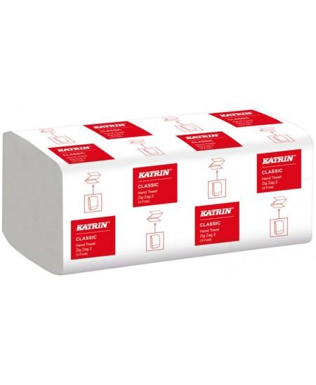 Lapiniai popieriniai rankšluosčiai KATRIN CLASSIC ZZ, 1 pakelis