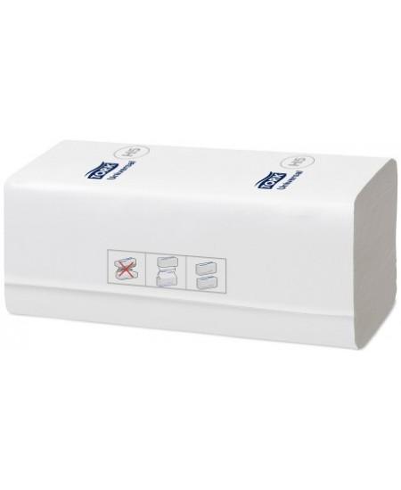 Lapiniai popieriniai rankšluosčiai TORK Universal PeakServe (H5), 100585, W lenk., 410 serv., 1 pak.