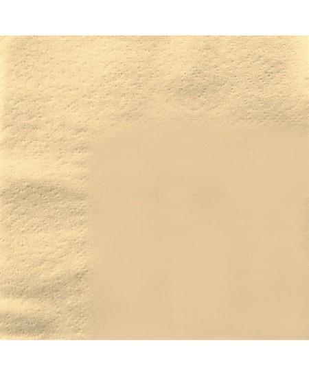Stalo servetėlės LENEK, šampano spalvos, 1 sluoksnio, 24x24 cm, 400 vnt.