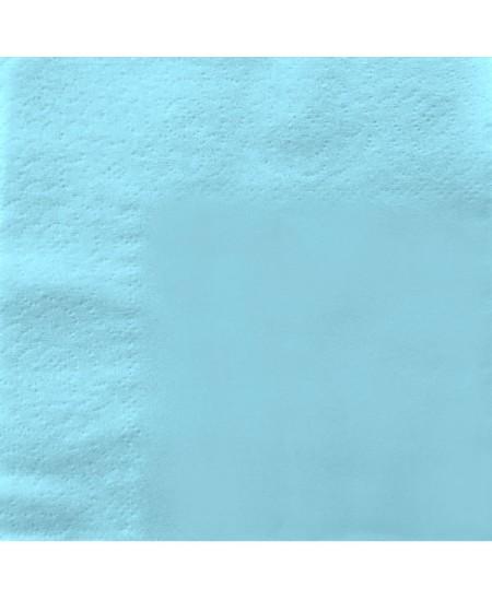 Stalo servetėlės LENEK, žydros spalvos, 1 sluoksnio, 24x24 cm, 400 vnt.