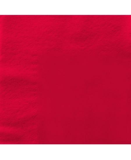 Stalo servetėlės LENEK, raudonos spalvos, 3 sluoksnių, 33x33 cm, 250 vnt.