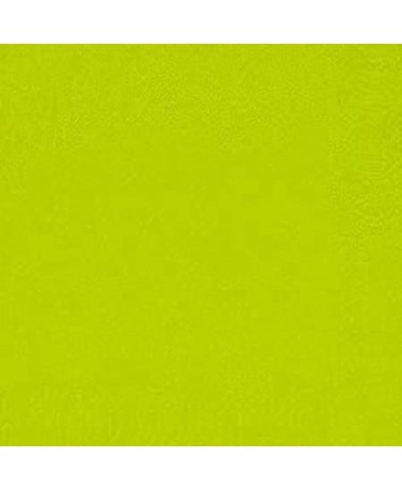 Stalo servetėlės LENEK, šviesiai žalios spalvos, 1 sluoksnio, 24x24 cm, 400 vnt.