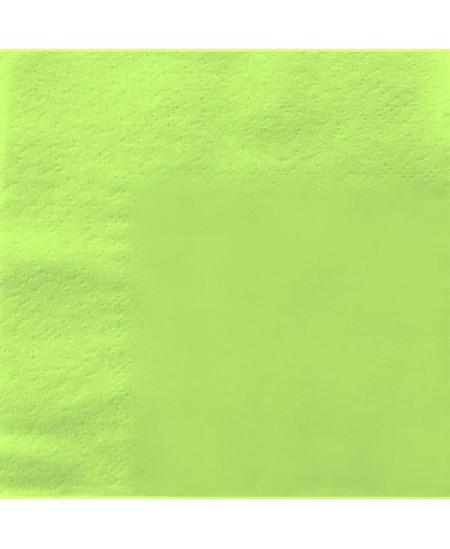 Stalo servetėlės LENEK, salotinės spalvos, 3 sluoksnių, 33x33 cm, 250 vnt.