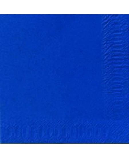 Stalo servetėlės LENEK, mėlynos spalvos, 3 sluoksnių, 33x33 cm, 250 vnt.