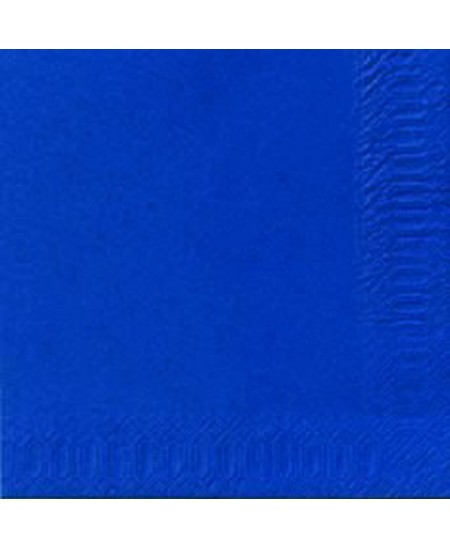 Stalo servetėlės LENEK, mėlynos spalvos, 1 sluoksnio, 24x24 cm, 400 vnt.