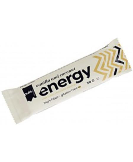 Baltymų batonėlis PULS ENERGY be gluteno, vanilės - kokoso skonio, 50g