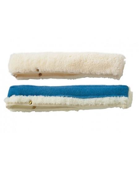 Langų valymo šluostė su abrazyvu, 45 cm laikikliui