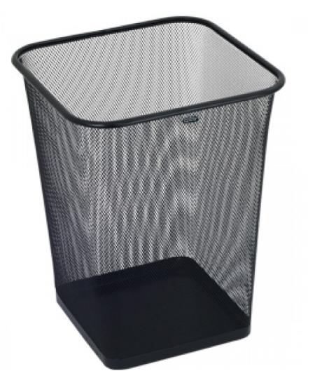 Šiukšliadėžė GRAND kvadratinė, 18l, juoda