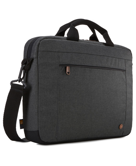 "Case Logic Era Attaché Fits up to size 14 "", Black, Shoulder strap, Messenger - Briefcase"
