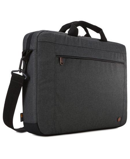 "Case Logic Era Attaché Fits up to size 15.6 "", Black, Shoulder strap, Messenger - Briefcase"