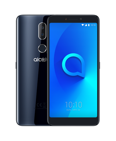 "ALCATEL 3v Spectrum 5099D  (Black) Dual SIM 6.0"" 1080x2160/16GB ROM /2GB RAM/ microSD up to 128GB/ 12MP/3000mAh/4G"