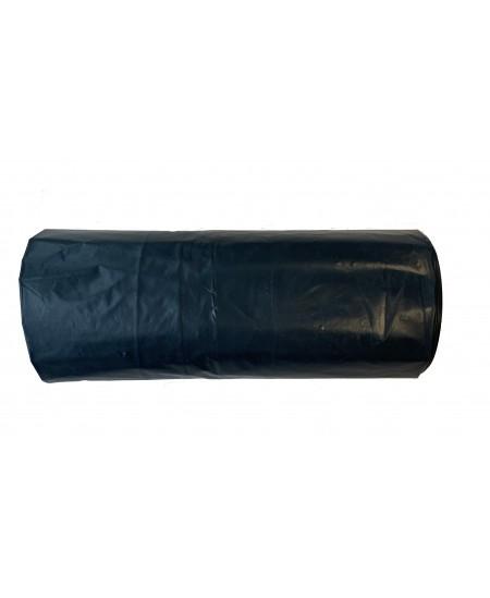 Šiukšlių maišai, 140 litrų, rulone 10 vnt., storis 40 µm, LDPE