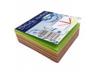 Lipnūs lapeliai CENTRUM, 75x75 mm, 225 lapeliai, neoniniai spalvoti