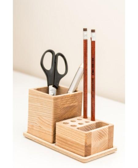 Medinė pieštukinė PROMI, 2-jų skyrių