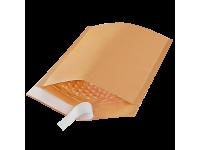 Vokas siuntiniams B12, 120x215 mm (142x225 mm), su nuplėšiama juostele, rudas
