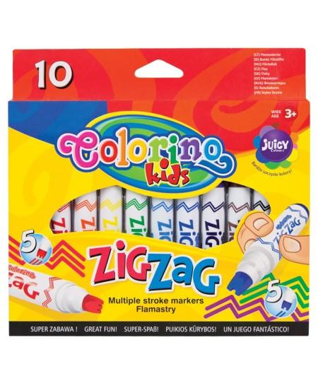 Flomasteriai COLORINO, 10 spalvų