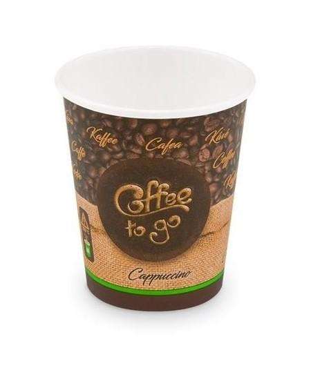 Popieriniai kavos puodeliai COFFEE TO GO, 110 ml, 50 vnt.