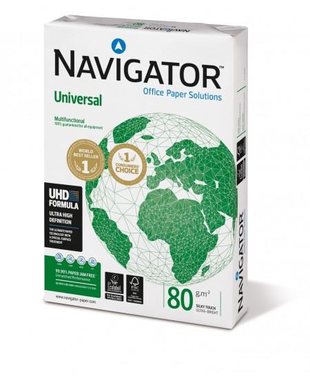 Popierius NAVIGATOR Universal, 80 g/m2, A4, 500 lapų
