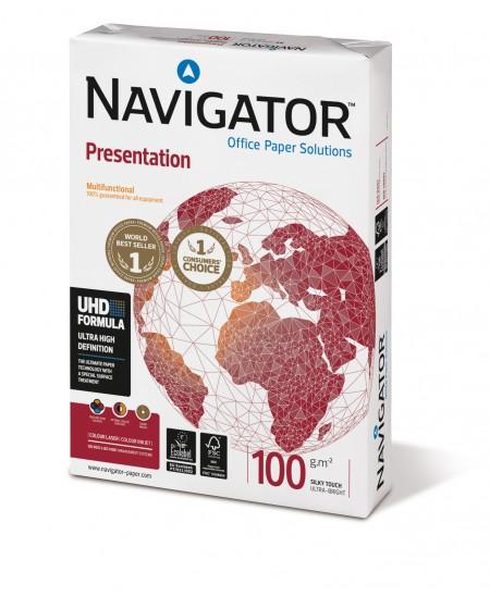 Popierius NAVIGATOR Presentation, 100 g/m2, A4, 500 lapų
