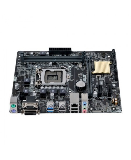 Asus H110M-K Processor family Intel, Processor socket LGA1151, DDR4-SDRAM, Memory slots 2, Supported hard disk drive interfaces