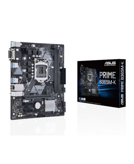 Asus PRIME B365M-K Processor family Intel, Processor socket LGA1151, DDR4 DIMM, Memory slots 2, Chipset Intel B, Micro ATX