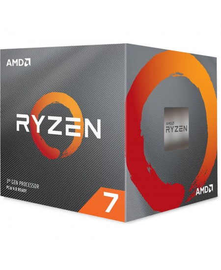 AMD Ryzen 7 3700X, 3.6 GHz, AM4, Processor threads 16, Packing Retail, Processor cores 8, Component for PC