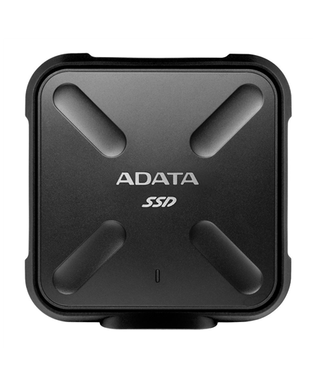 ADATA External SSD SD700 512 GB, USB 3.1, Black