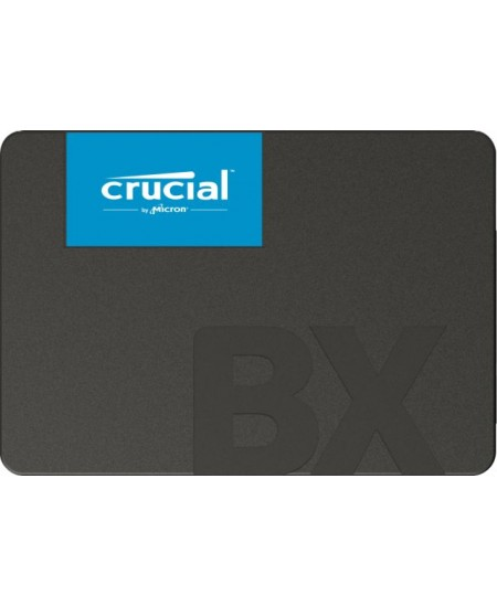 """Crucial BX500 480 GB, SSD form factor 2.5"""", SSD interface SATA, Write speed 500 MB/s, Read speed 540 MB/s"""