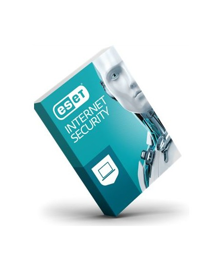 Eset Internet security 12, New licence, 1 year(s), License quantity 2 user(s), BOX