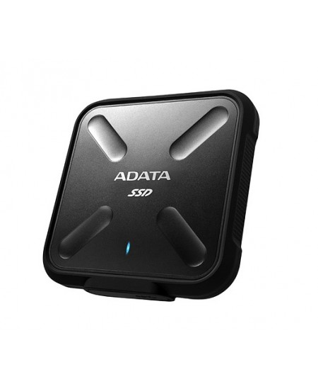ADATA External SSD SD700 1000 GB, USB 3.1, Black
